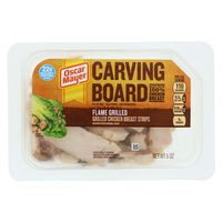 Oscar Mayer Carving Board Flame Grilled Strips Chicken Breast