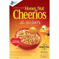Cheerios Honey Nut  Cereal with Oats Gluten Free