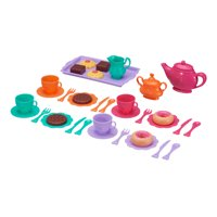 Kid Connection Deluxe Tea Party Play Set, 37 Pieces