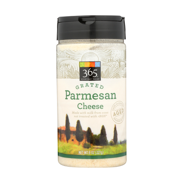 365 everyday value® Parmesan Cheese, Grated, 8 Oz.