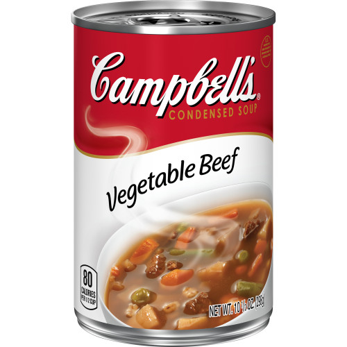 Campbell's Condensed Vegetable Beef Soup, 10.5 oz. Can