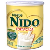 Nestle NIDO Fortificada Whole Milk Powder 12.6 oz. Canister Powdered Milk Mix