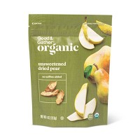 Organic Dried Unsweetened Pear Snacks - 4oz - Good & Gather™