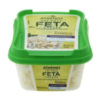 Athenos Crumbled Traditional Fat Free Feta Cheese