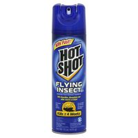 Hot Shot Flying Insect Killer, Clean Fresh Scent