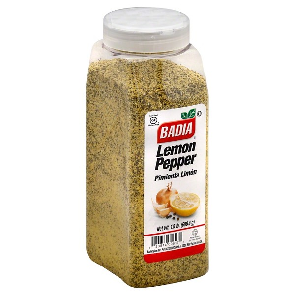 Badia Lemon Pepper Seasoning 1.5LB
