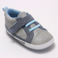 Baby Boys' Ro+Me by Robeez Parker Casual Shoes - Gray