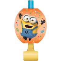 Despicable Me Minions Party Blowers, 8ct