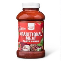 Meat Flavored Pasta Sauce - 45oz - Market Pantry™