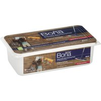 Bona Express™ Disposable Wet Cleaning Pads for Hardwood Floors, 12 count