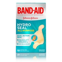 Band-Aid Brand Hydro Seal All Purpose Adhesive Bandages - 10ct