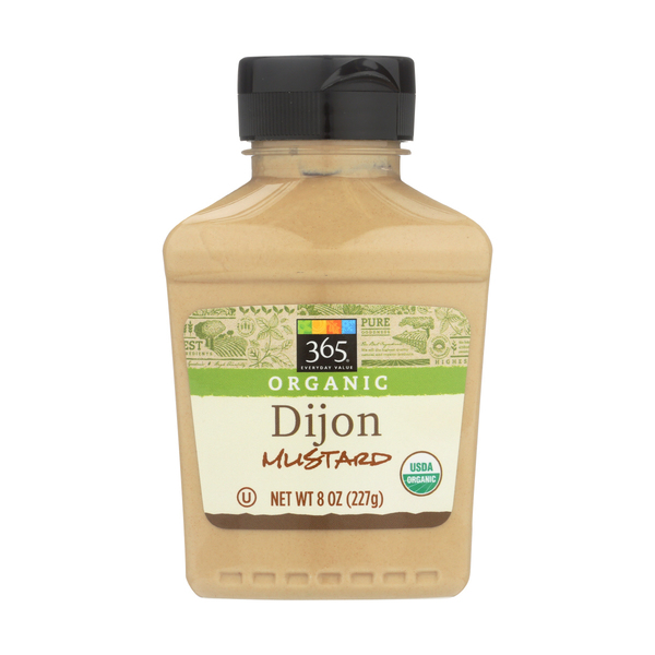 365 everyday value® Organic Mustard, Dijon, 8 Oz.