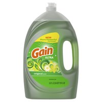 Gain Ultra Dishwashing Liquid Dish Soap, Original Scent, 75 fl oz
