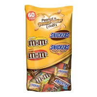 Mars Peanut Lovers Variety Pack - 36.70oz/60ct