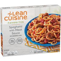 Lean Cuisine Spaghetti with Meat Sauce with Mushrooms and Basil