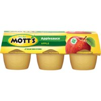 Mott's Applesauce, 4 oz cups, 6 count