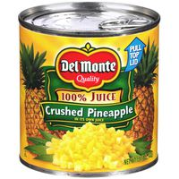 Del Monte Crushed in 100% Juice Pineapple