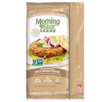Morning Star Farms Veggie Burgers Spicy Indian Veggie