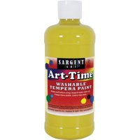 Sargent Art Yellow Tempera Paint, 16 Oz.
