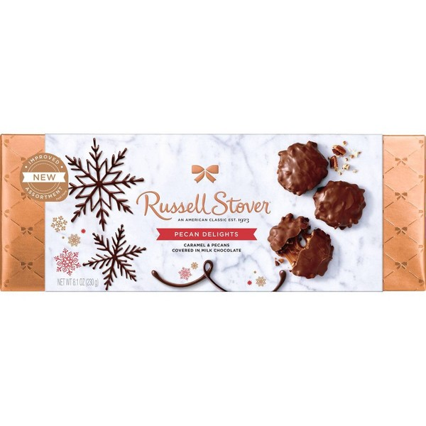Russell Stover Bowline Christmas Pecan Delight Gift Box - 8.1oz