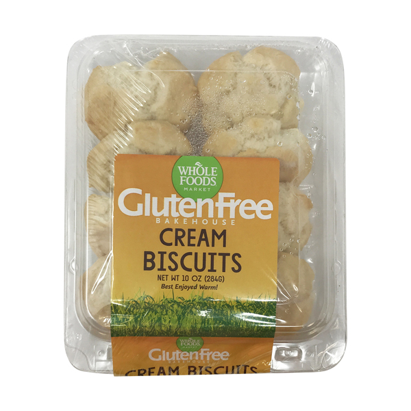 Whole foods market™ Gluten Free Cream Biscuits, 10 oz
