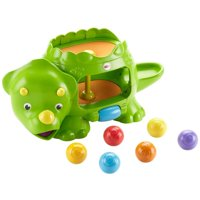 Fisher-Price Double Poppin' Dino with Silly Sounds & Music