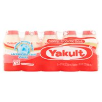 Yakult Nonfat Probiotic Drink, 2.7 fl oz, 5 count