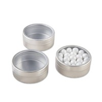 """12ct """"Simply Sweet"""" Round, Candy Tin"""