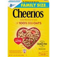 Cheerios, Cereal with Whole Grain Oats, Gluten Free, 18 oz