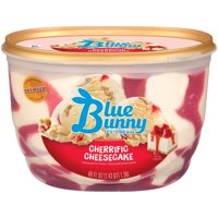 Blue Bunny Cherrific Cheesecake Premium Ice Cream, 46 fl oz