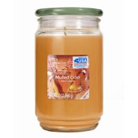 Mainstays Mulled Cider Single-Wick 20 oz. Jar Candle