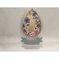 """Way to Celebrate Easter Egg with dangle sign 12.8"""""""
