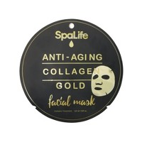 My Spa Life Collagen Gold Face Mask - 0.81 fl oz
