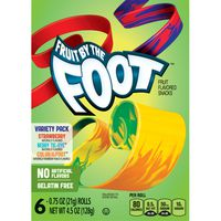 Fruit by the Foot Betty Crocker Fruit Snacks, , Variety Snac