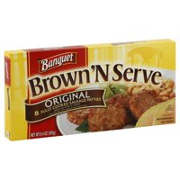 Banquet Brown 'N Serve, Original Sausage Patties, 6.4 Ounce, 8-Count