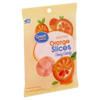 Great Value Orange Slices Chewy Candy, 10 oz