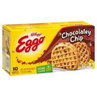 Kellogg's Eggo Frozen Waffles Chocolatey Chip