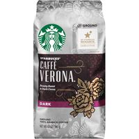 Starbucks Dark Roast Caffe Verona Ground Coffee