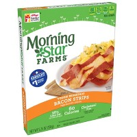 Morningstar Farms Veggie Breakfast Bacon Frozen Strips - 5.25oz