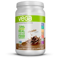 Vega Essentials Vegan Nutritional Shake Powder - Chocolate - 21.6oz