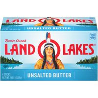 Land O' Lakes Unsalted Butter Sticks
