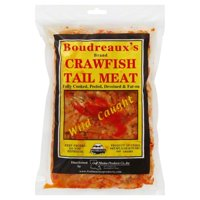 Gulf Marine Products Boudreauxs Crawfish Tail Meat, 12 oz