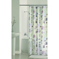 Mainstays Natures Moments II PEVA Shower Curtain, 1 Each