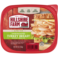 Hillshire Farm® Ultra Thin Sliced Deli Lunch Meat, Oven Roasted Turkey Breast, 9 oz