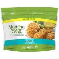 Morningstar Farms Frozen Chik'n Nuggets Value Pack - 21oz