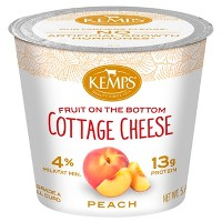 Kemps Peach Fruit On The Bottom Cottage Cheese - 5.6oz