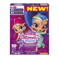 Shimmer & Shine Fruit Flavored Snacks 10Ct Carton 10 ct 8 oz