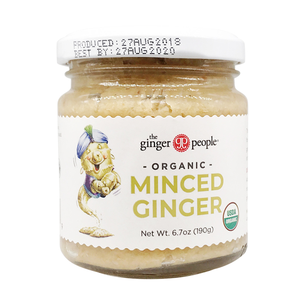 The ginger people Organic Minced Ginger, 6.7 oz