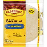 Old El Paso Flour Tortilla Shells, 8 Ct, 11 oz Box