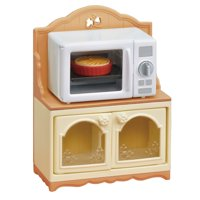 Calico Critters Microwave Cabinet, Furniture Accessories